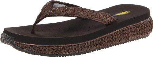 Volatile Women'S Palau Wedge Sandal,Brown,9 B Us front-922130