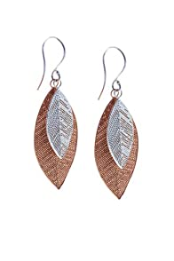 World Finds Fair Trade Cascading Leaf Earrings