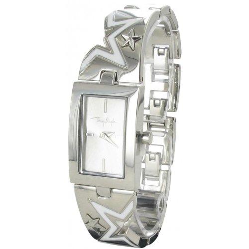 Thierry Mugler - 4716704 - Montre Femme - Quartz Analogique - Cadran Argent - Bracelet Métal Argent