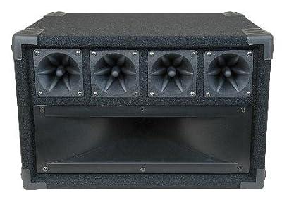 MCM Custom Audio 555-10350 Mid / High Frequency Cabinet wtih Midrange Horn and Piezo Tweeters