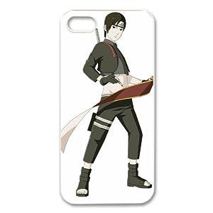 ePcase Feelingless Sai in Naruto Printed White Hard Case Cover for iPhone 5