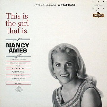 Nancy Ames: This Is The Girl That Is [VINYL LP] [STEREO]