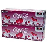 Coca Cola American Cherry Soda aka Cherry Coke 355ml Can