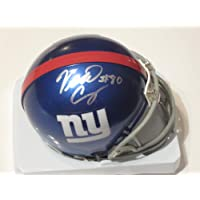 Victor Cruz Signed Autographed NEW York Giants Mini Helmet Autograph with Certificate of Authenticity & Proof