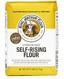 King Arthur Flour White Whole Wheat Flour, 5-Pound (Pack of 4)
