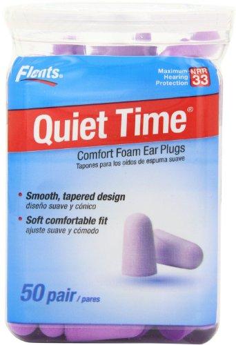 Flents Quiet Ear Plugs Temps Soft Comfort 50
