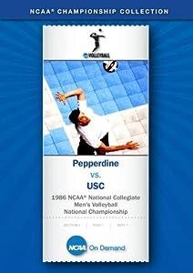 1986 NCAA(r) National Collegiate Men's Volleyball National Championship - Pepperdine vs. USC