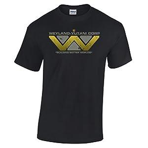 Weyland Yutani Corp Spoof Parody T Shirt USCSS Nostromo Sulaco Ripley Space Mens Regular Fit Small - XXLarge Multiple Colours