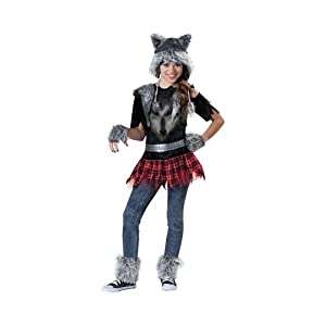 Girl's Wear Wolf Costume