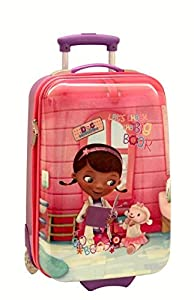 disney docteur la peluche valise trolley coques avec. Black Bedroom Furniture Sets. Home Design Ideas