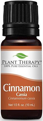 Cinnamon Cassia Essential Oil. 10 ml. 100% Pure, Undiluted, Therapeutic Grade.