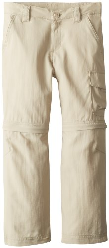 Columbia Boy's Silver Ridge III Convertible Pant, Fossil, Medium (Columbia Zip Off Pants compare prices)