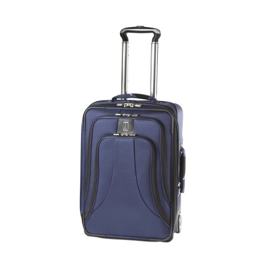 Travelpro Luggage WalkAbout LITE 4 20-Inch Expandable Business Plus Rollaboard, Blue, One Size B0055JE7QY