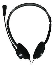 Zebronics ZEB-11HMV/15HMV Stereo Headphone with Mic (Black)