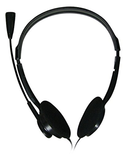 Zebronics ZEB-11HMV/15HMV Stereo Headphone with Mic (Black)