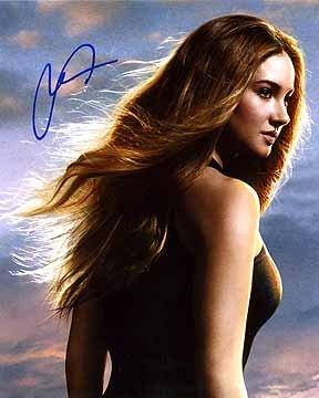 Divergent autographed photo