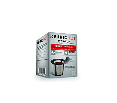 Keurig 119203 My K-Cup Reusable Coffee Filter, Gray (Updated Model) (Keurig Coffee Reusable compare prices)