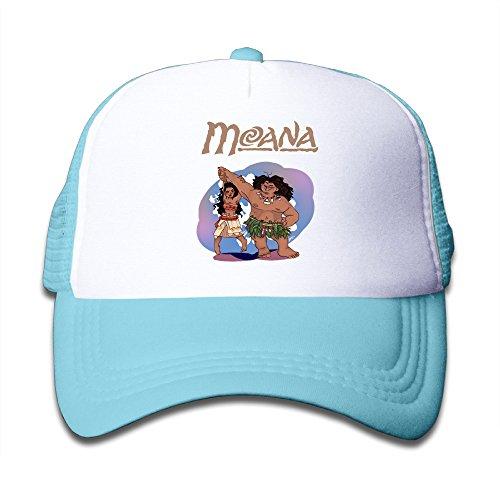 Moana Half Mesh Adjustable Baseball Cap