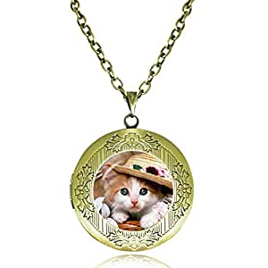 Lukso fashion cute kitty cat pendants cat for Cat in the hat jewelry