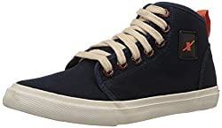 Sparx Men's Navy Blue Sneakers - 9 UK (SC0233G)