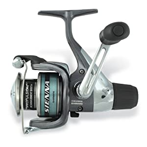 Shimano Sienna Spin Reel (5.1:1 10-Pounds/200 RD Heavy Medium)