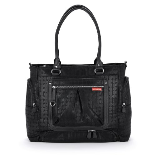 Skip Hop Lady Bento Diaper Bag, Black front-17725