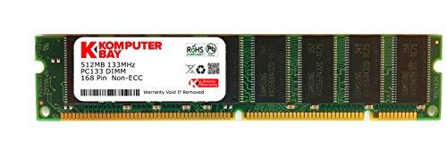 Komputerbay 512MB SDRAM 133 MHz 3.3V PC133 168PIN SDRAM DIMM FOR APPLE MACINTOSH