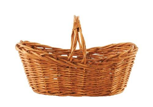 16-1/2-Inch Oval Market Basket