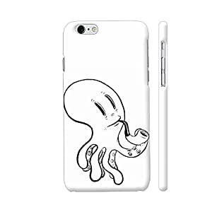 Colorpur Black And White Octopus Designer Mobile Phone Case Back Cover For Apple iPhone 6 plus / 6s plus | Artist: Pritpal Singh