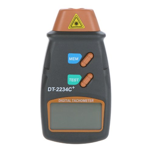 Cheapest Prices! Digital Laser Photo Tachometer Non Contact RPM Tach Meter Motor Speed Gauge