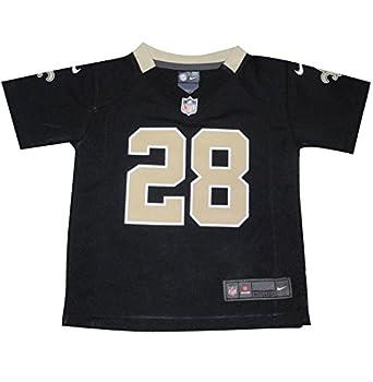 NFL New Orleans Saints Ingram #28 Toddler Athletic Short Sleeve Jersey 3T Black
