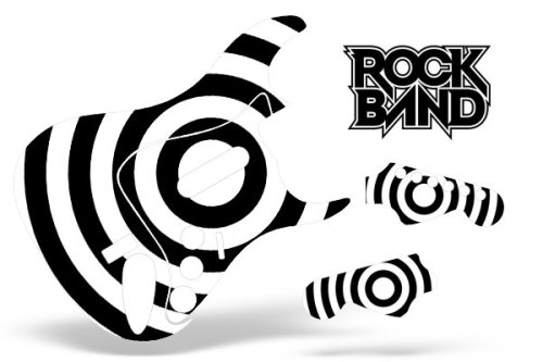 Lowest price rock band guitar skin fits xbox 360 ps3 stratocaster guitar zakk wylde bullseye discount review store