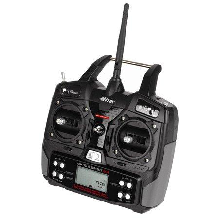 Hitec 159241 Optic 6 Sport 2.4GHz Tx/2 Optima 6 Rx