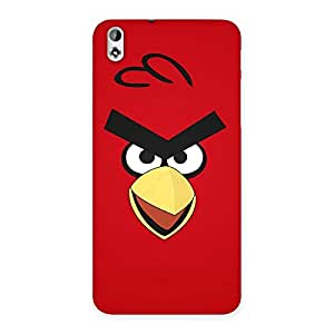 Enticing Red Yelo Peak Back Case Cover for HTC Desire 816s