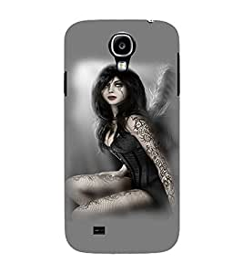 PrintVisa Hot & Sexy Angel Girl 3D Hard Polycarbonate Designer Back Case Cover for Samsung Galaxy S4 Mini