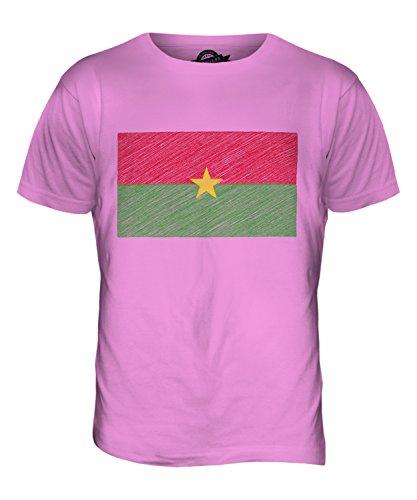 candymix-burkina-faso-kritzelte-flagge-herren-t-shirt-grosse-large-farbe-rosa