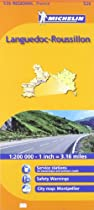 Michelin Languedoc-Roussillon, France (Michelin Maps) (Multilingual Edition)