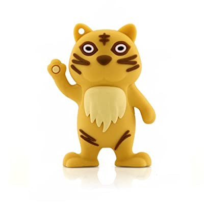 4GB TIGER USB Flash Memory Drive by JellyFlash