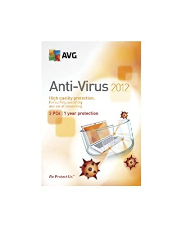 AVG 2012 Anti-Virus 3 Users [Old Version]