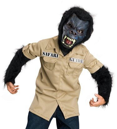Horrorland Gorilla Kids Costume