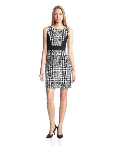 Anne Klein Women's Plaid Ponte Sheath Dress