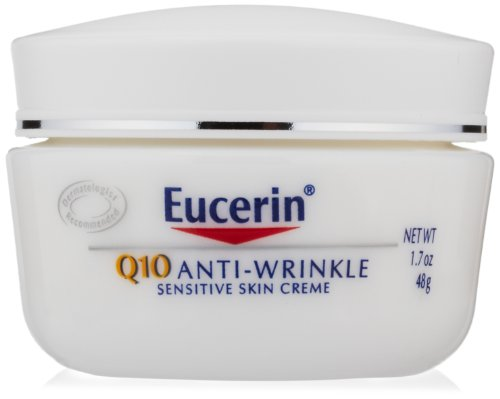 Eucerin Q10 Anti-Wrinkle Sensitive Skin Creme, 1.7 Ounce Jar