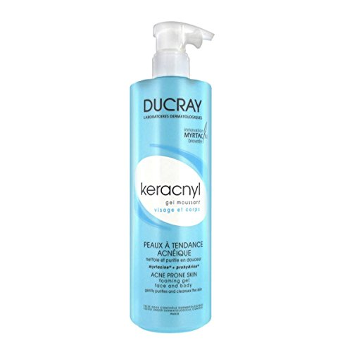 Ducray Keracnyl gel detergente viso e corpo 400ml