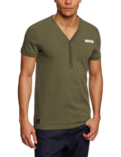 G-Star Raw RCO Granddad Shortsleeve Men's T-Shirt Sage Medium - 21.131.84550A.4561.724.0.M