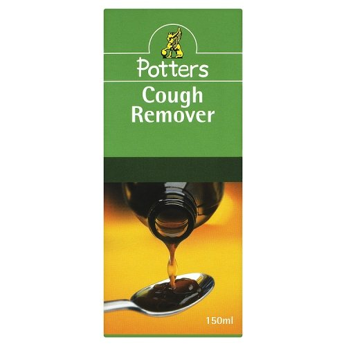 Potters Cough Remover Mixture Syrup 150 ml