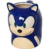 ソニック・ザ・ヘッジホッグ モールドマグカップ/Sonic the Hedgehog Face Molded Coffee Mug 【並行輸入】