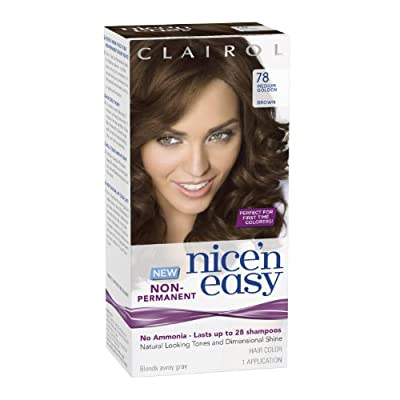 Best Cheap Deal for Clairol Nice 'N Easy Non-Permanent Hair Color 78 Medium Golden Brown 1 Kit (Pack of 3) from Herbal Essences - Free 2 Day Shipping Available