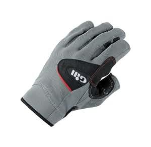 Gill Deckhand Glove SHORT Finger BLACK/GREY 7041 Sizes- - XSmall