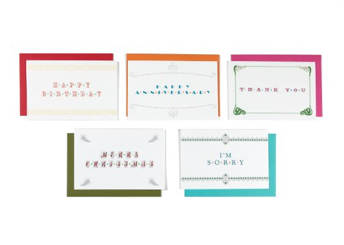 Lusty Letter - For Newlyweds 5-Pack Of Positively Naughty Greeting Cards