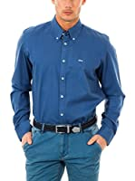 McGregor Camisa Hombre Axel Gregory W Bd Cf Ls (Azul)